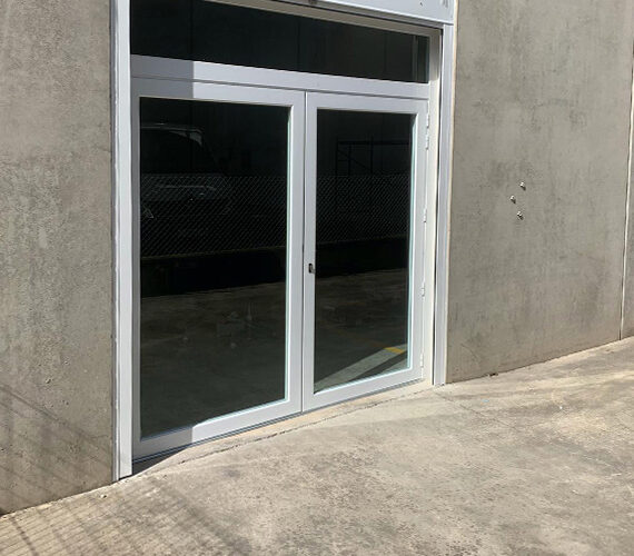 Porta PVC blanca
