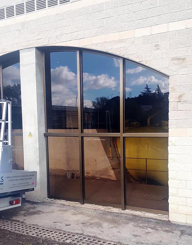 finestra alumini forma especial