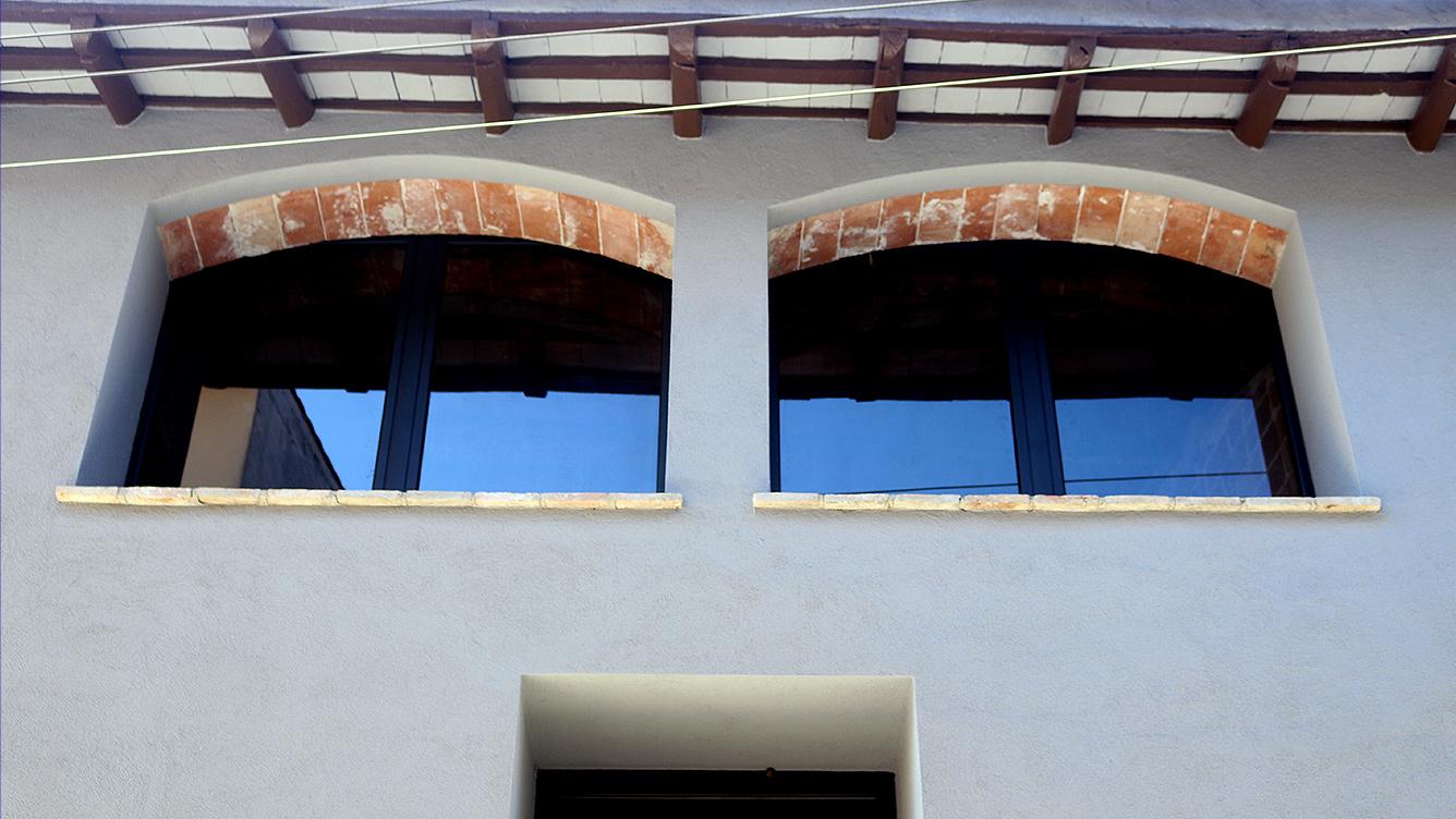 finestres d'alumini